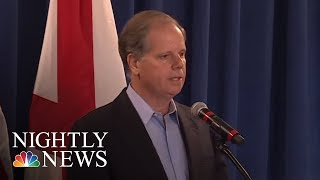 Democrat Doug Jones Wins Alabama Special Election In Stunning Upset | NBC Nightly News - NBCNEWS