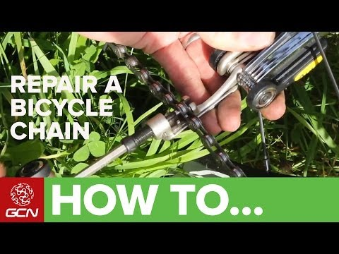 How To Repair A Bicycle Chain - GCN's Roadside Maintenance Series