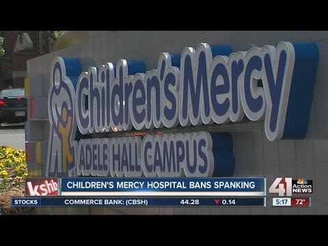 Children's Mercy Hospital bans spanking
