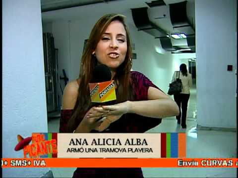 Ana Alicia Alba armó una tramoya playera 01/05/2012
