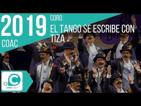 Sesión de Cuartos de final, la agrupación El tango se escribe con tiza actúa hoy en la modalidad de Coros.