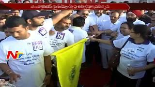 Deputy CM Mohammed Ali Participates in 5k Run at Peoples Plaza || Hyderabad || NTV - NTVTELUGUHD
