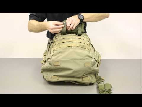 5.11 Rush Backpack - Using the Molle System