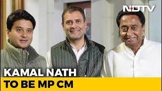 Kamal Nath Bags Madhya Pradesh Job, Jyotiraditya Scindia Gets Delhi Role - NDTV