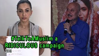 #TalkToAMuslim campaign is RIDICULOUS: Anupam Kher - IANSLIVE