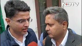 सचिन पायलट ने NDTV से कहा, राजस्थान में कांग्रेस की सरकार बनेगी - NDTVINDIA