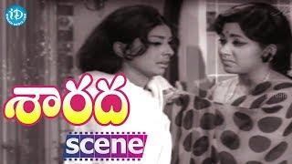 Sarada Movie Climax Scene || Sharada || Shobhan Babu || Jayanti || Rao Gopal Rao - IDREAMMOVIES