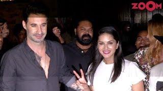 Bollywood Star Sunny Leone & Husband Daniel Weber Meet Their Fans In Mumbai - ZOOMDEKHO