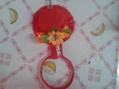 Chapéu Porta Pano de Prato [Reciclado]