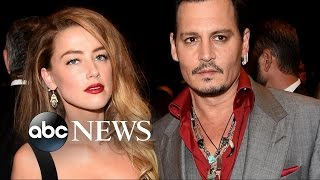 Johnny Depp Ordered to Temporarily Stay Away from Estranged Wife Amber Heard - ABCNEWS