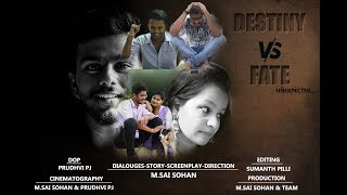 Destiny vs Fate (A telugu short film) - YOUTUBE