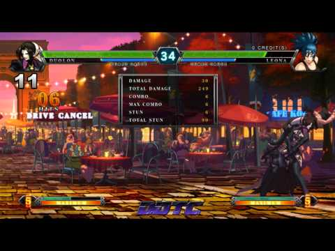 KOF XIII: Duo Lon combo tutorial - Duo Lon The Silent Assassin