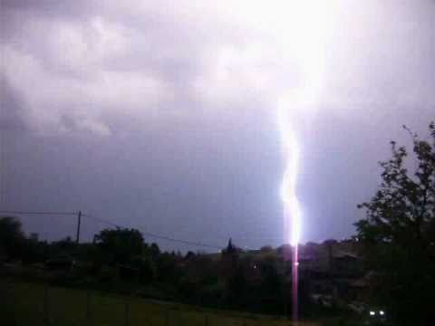 Huge Lightning Storms 2010