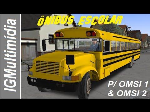 Ônibus Escolar Americano para Omsi 1 & Omsi 2 [Download]