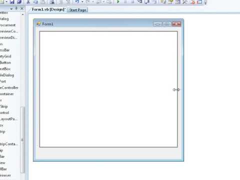 Simple Visual Basic Tutorial - Notepad