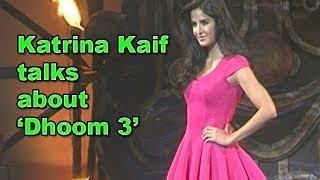 Dhoom 3: Katrina Kaif talks about movie promotions