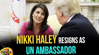 Nikki Haley Resigns unexpectedly as Trump's UN Ambassador | #NikkiHaleyResigns | Mango News - MANGONEWS