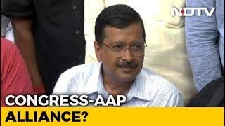 """Tired Of Convincing Congress"": Arvind Kejriwal On Alliance In Delhi - NDTV"