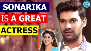 Sonarika Is A Great Actress - Bellamkonda Sreenivas || Speedunodu Movie - IDREAMMOVIES