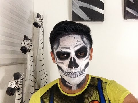 Tutorial Maquillaje Calavera / Skull Makeup Tutorial