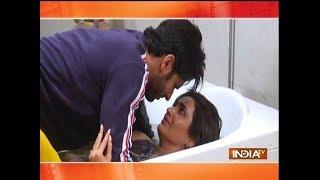 Qayamat Ki Raat: Raj and Gauri romance in Bathtub - INDIATV
