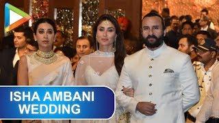 Nawab Saif Ali Khan & Kareena Kapoor Khan grace Isha Ambani- Anand Piramal's Wedding Celebrations - HUNGAMA