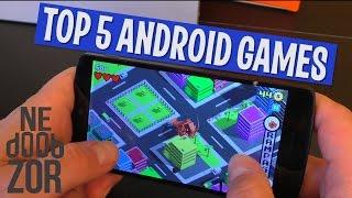 ТОП 5 БЕСПЛАТНЫХ Андроид игр 2016