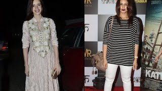 Kalki, Huma at Katiyabaaz screening - IANSINDIA