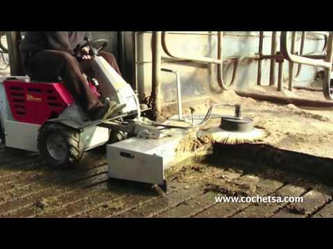 Balayeuse pour tracteur tondeuse