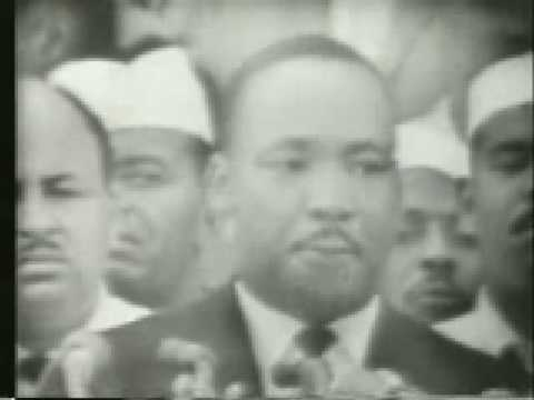 Martin Luther King - I Have A Dream Speech 2/3 (1963)