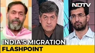 The Big Fight: Attacks On Migrants - No Unity In Diversity? - NDTV