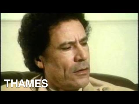 Libya - Muammar  Gaddafi Interview - TV Eye