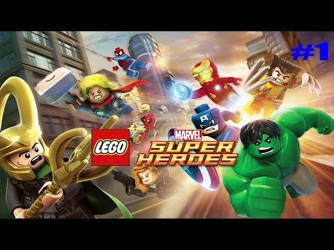 LEGO Marvel Super Heroes Wii u part 1