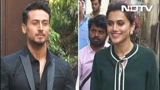 Celeb Spotting: Tiger Shroff, Ranveer Singh, Taapsee Pannu & Others - NDTV