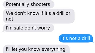 As the Parkland students hid from the shooter these are the text messages they sent - WASHINGTONPOST
