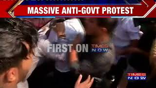 Massive Anti-Government Protest By Congress In Bhopal, Madhya Pradesh - TIMESNOWONLINE