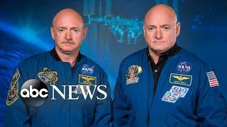 NASA study reveals gene changes between twin astronauts - ABCNEWS