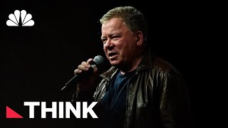 William Shatner Talks Star Trek, A Cancer Scare, And Our Current Political Moment | Think | NBC News - NBCNEWS