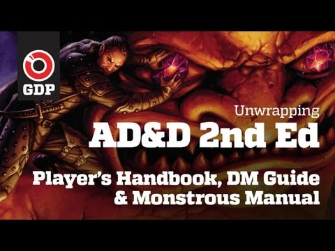 Unwrapping Advanced Dungeons & Dragons 2nd Ed