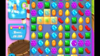 guide, tips, and cheats from Candy Crush Soda Saga Level 123 in video