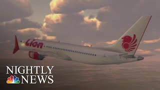 Lion Air Crash Scenario Wasn't Covered In Boeing 737 MAX Manual, Veteran Pilots | NBC Nightly News - NBCNEWS