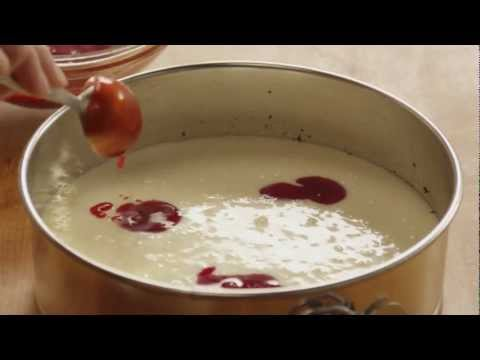 How to Make White Chocolate Raspberry Cheesecake