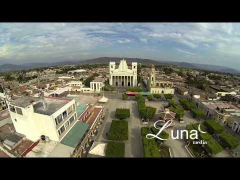 Vista Aerea de Zapotiltic Jalisco Mexico