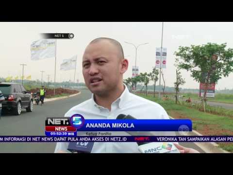Kejurnas Balap Mobil di Sirkuit Jalan Raya BSD NET5