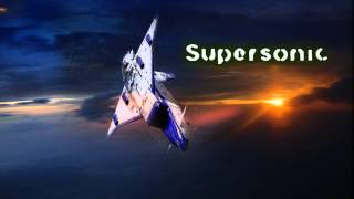 Royalty Free :Supersonic