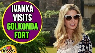 Ivanka Trump Speaks To Media From Golkonda Fort | Mango News - MANGONEWS