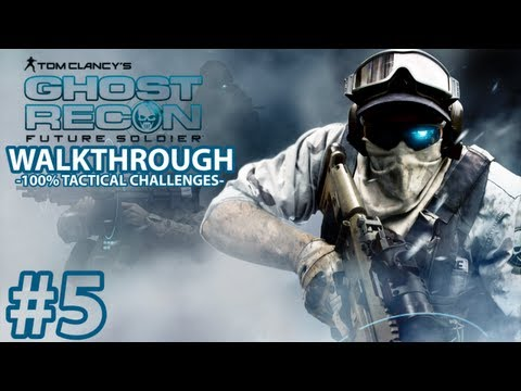 Ghost Recon Future Soldier - Mission 5 Tactical Challenges Walkthrough - Elite Difficulty