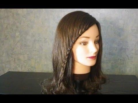Прическа на каждый день для длинных волос