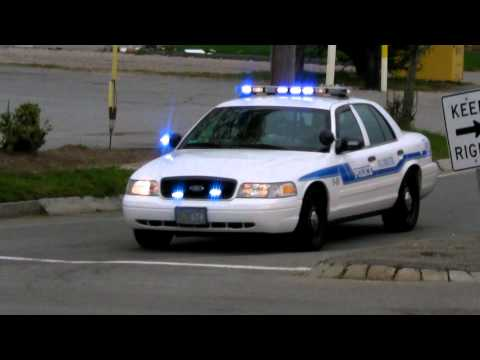 Slicktop Police Car at Traffic Stop + Falmouth Police Crown Vic Responding