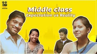 Middle class||Expectation vs Reality ||Telugu Comedy Short Film || Chandu ledger - YOUTUBE